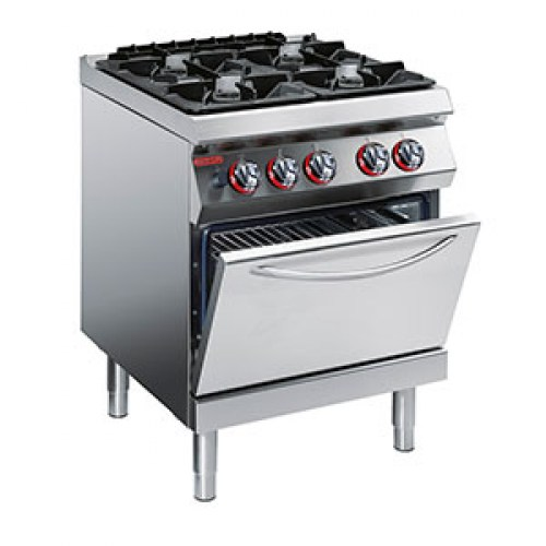 Angelo Po, Gas Stove with Static Oven, 1G1FA0G