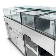 IFI, Display Case, Drop-in DELICE, Counter
