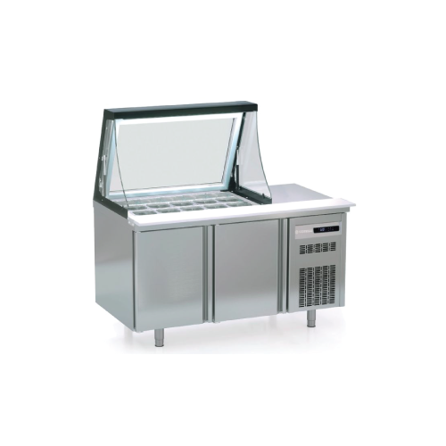 Coreco Salad Preparation Counter PC80-150-15-LGL
