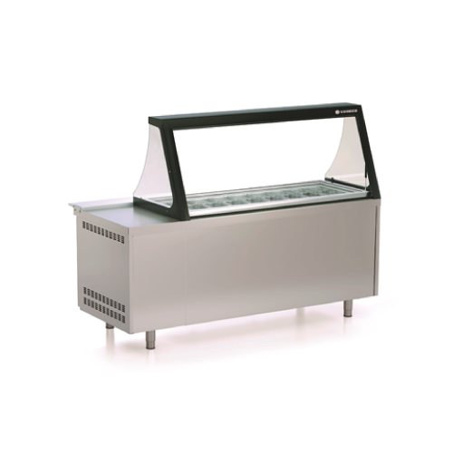 Coreco Salad Preparation Counter PC80-200-27-LGL